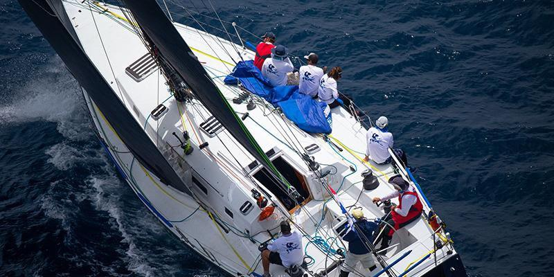 Katara first afternoon off the start - Transpac 50 - photo © Sharon Green / Ultimate Sailing