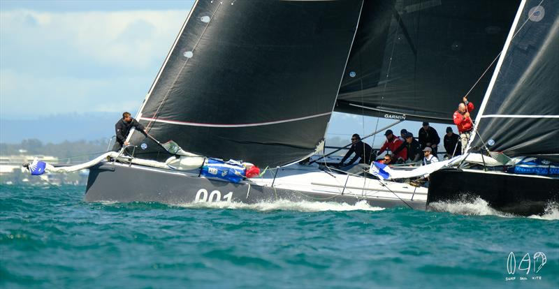 L-R Ichi Ban and Chinese Whisper at  Lendlease Brisbane to Hamilton Island Yacht Race - photo © Mitch Pearson / Surf Sail Kite