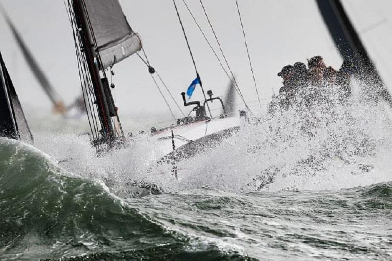 IRC class 2 start - Cowes Week 2019 - Day 2 photo copyright Paul Wyeth / CWL taken at Cowes Combined Clubs and featuring the IRC class