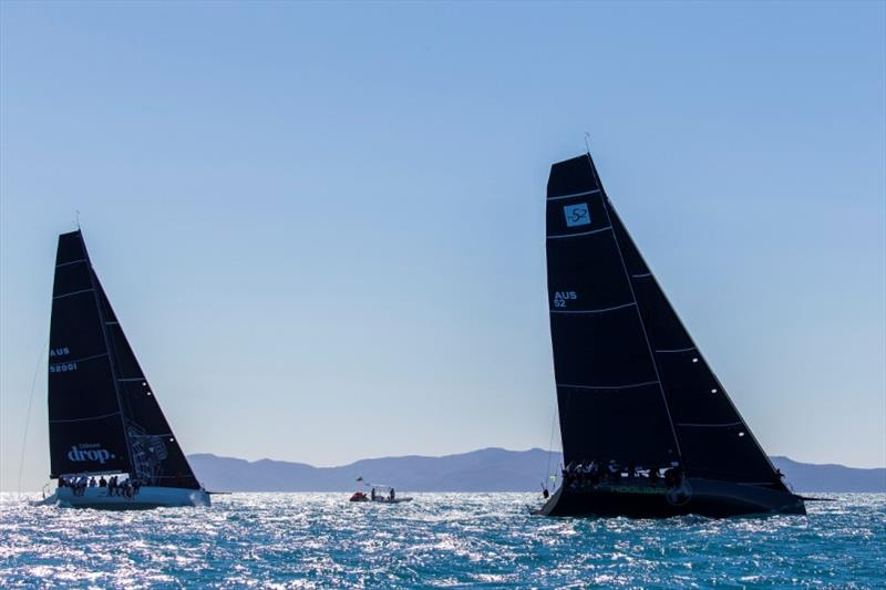 Zen and Hooligan hard at it - 2019 Airlie Beach Race Week - photo © Andrea Francolini / ABRW