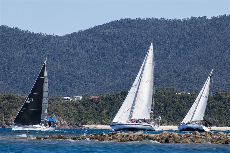 More of this is expected today - Airlie Beach Race Week photo copyright Andrea Francolini taken at Whitsunday Sailing Club and featuring the IRC class