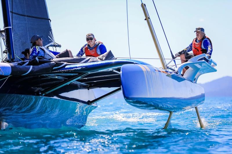 Hamilton Island Race Week day 1 - Extreme 40 Mad Max - photo © Salty Dingo