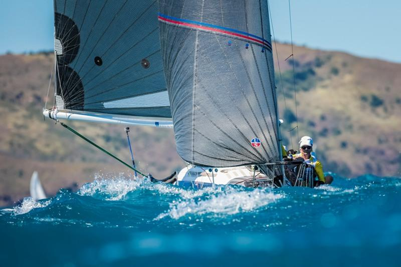 Leading Trailable Ray White Kameruka from Whitsunday Sailing Club - 2019 Hamilton Island Race Week, day 4 - photo © Salty Dingo