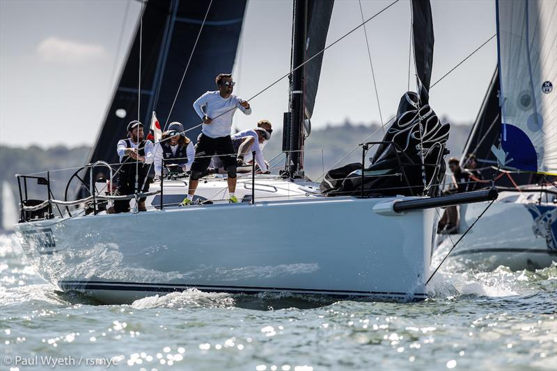 2019 Land Union September Regatta photo copyright Paul Wyeth taken at Royal Southern Yacht Club and featuring the IRC class