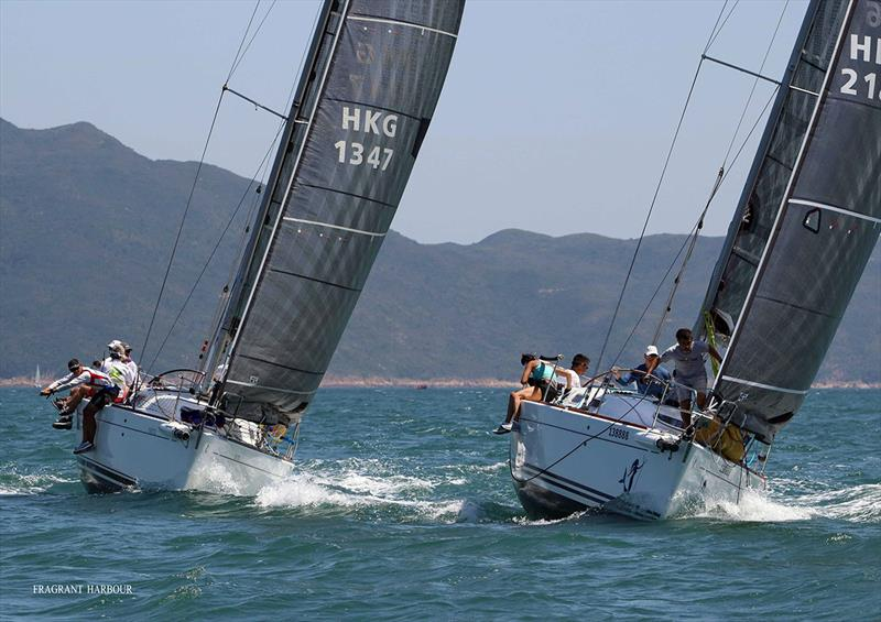 Calamansi and Goddess - 2019 Port Shelter Regatta , Race 2 - photo © Fragrant Harbour