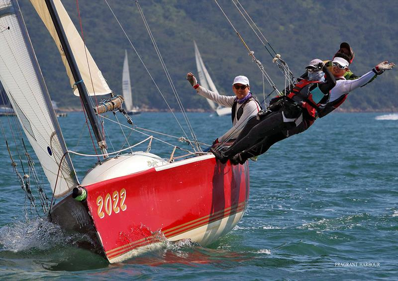 Catch 22 passes Yim Tin Tsai - 2019 Port Shelter Regatta , Race 1 - photo © Fragrant Harbour