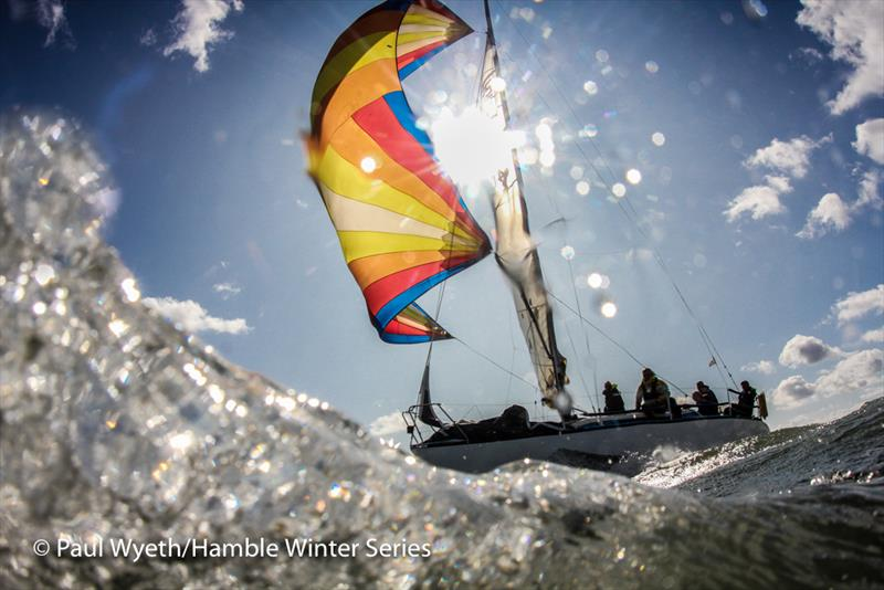 Autumn IRC Championships during week 1 of the HYS Hamble Winter Series - photo © Paul Wyeth / www.pwpictures.com