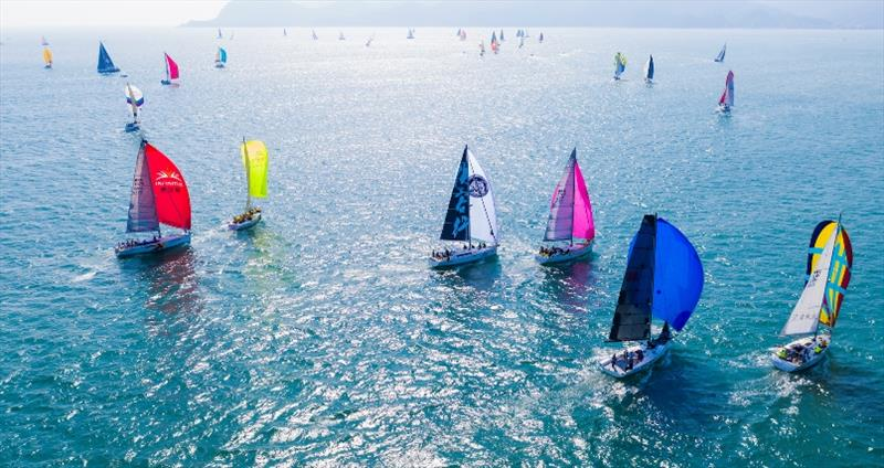 2019 China Cup International Regatta - Day 2 photo copyright China Cup / Studio Borlenghi taken at  and featuring the IRC class
