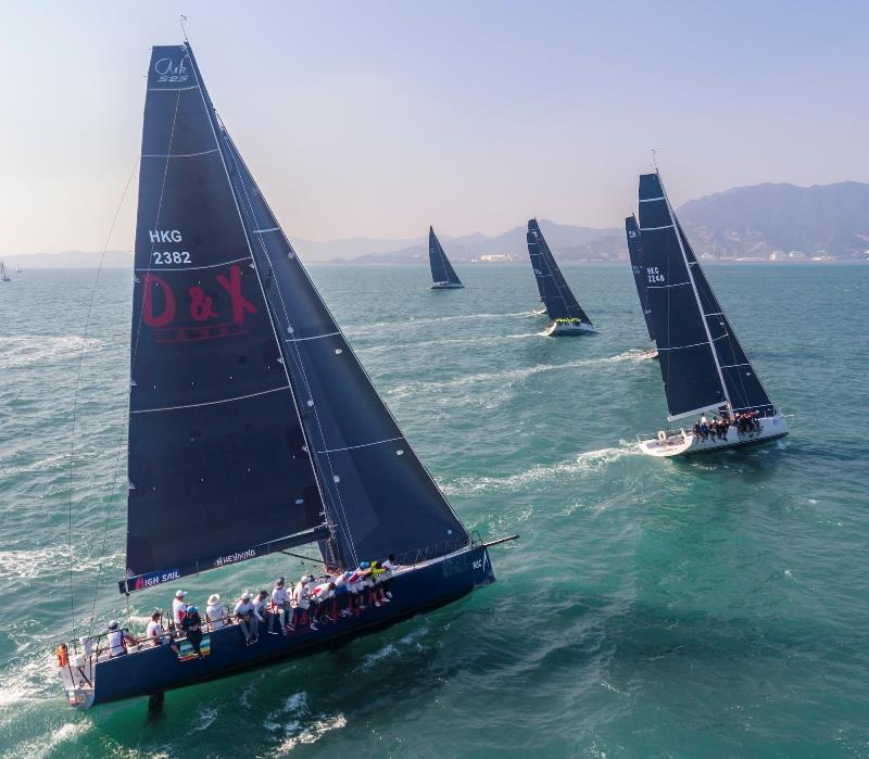 2019 China Cup International Regatta, day 3 photo copyright China Cup / Studio Borlenghi taken at  and featuring the IRC class