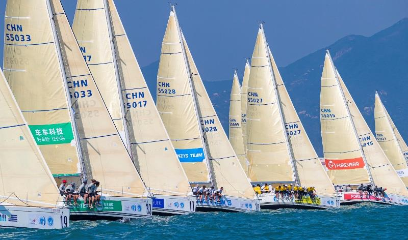 2019 China Cup International Regatta day 4 photo copyright China Cup / Studio Borlenghi taken at  and featuring the IRC class