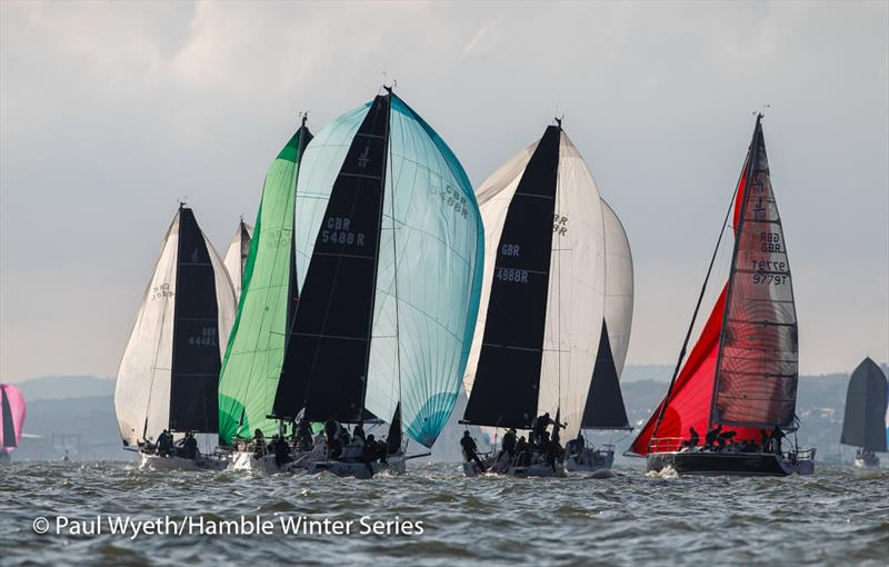 IRC Two during the HYS Hamble Winter Series week 5 - photo © Paul Wyeth / www.pwpictures.com