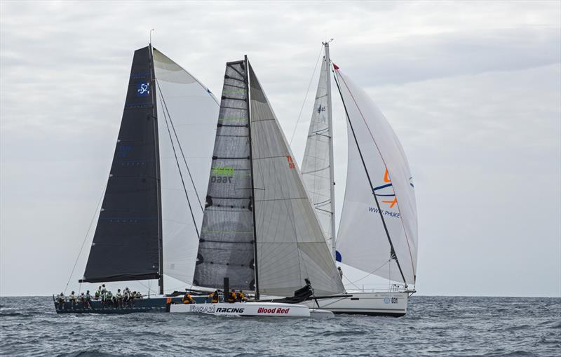3 boats, 3 classes. Phuket King's Cup 2019 photo copyright Guy Nowell / Phuket King's Cup taken at Royal Varuna Yacht Club and featuring the IRC class