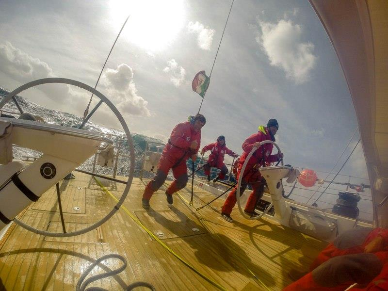 Stern GoPro Waves - Almorgeres II - Cape2Rio Ocean Race - photo © Jack Evans