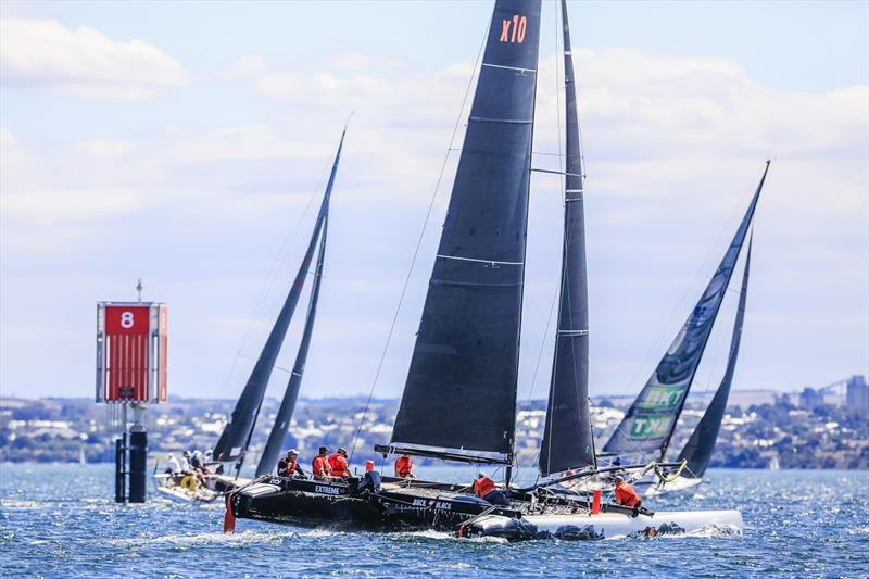 Festival of Sails - Passage Race line honours multi winner Back in Black - photo © Salty Dingo