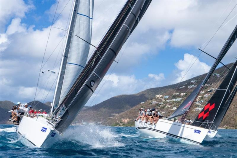 Mixing it up - racing on a wide variety of courses is a unique aspect of the BVI Spring Regatta photo copyright Alastair Abrehart taken at Royal BVI Yacht Club and featuring the IRC class