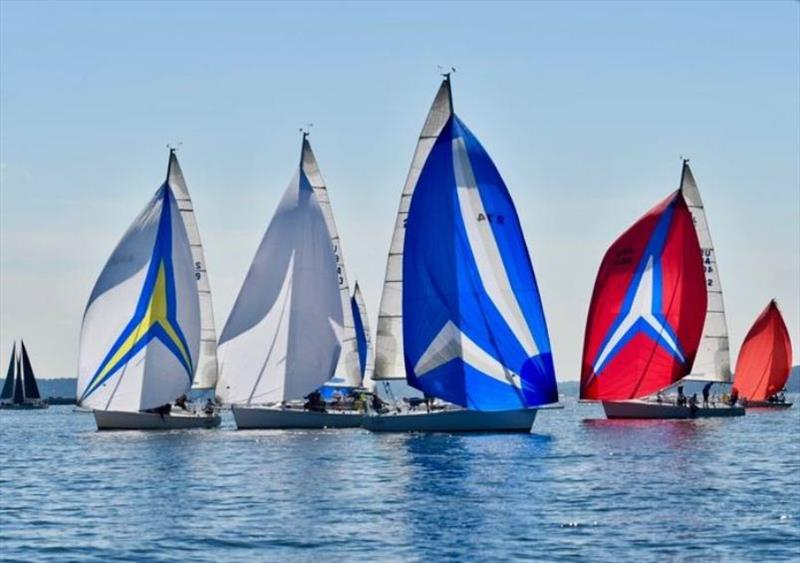 Mixed double-handed offshore fleet photo copyright Young American Sailing Academy taken at  and featuring the IRC class