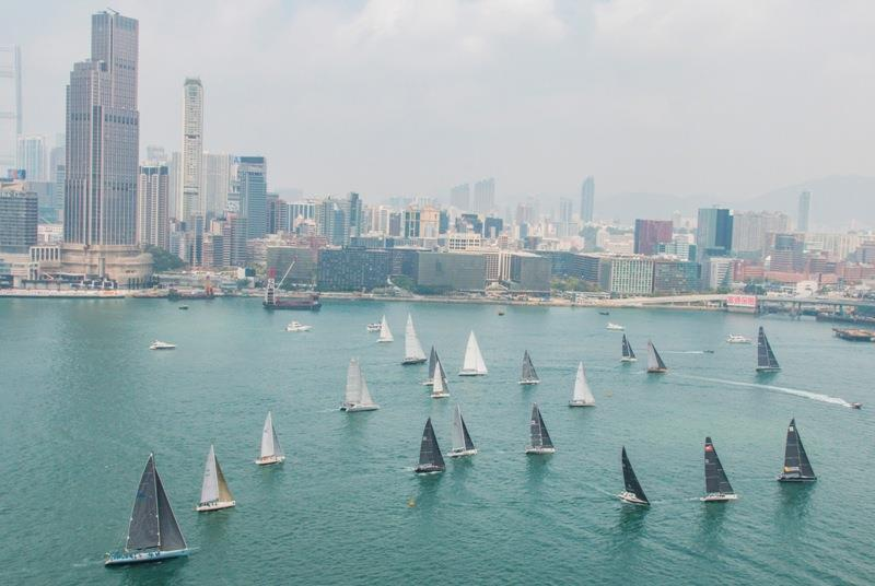 Rolex China Sea Race photo copyright Daniel Forster taken at Royal Hong Kong Yacht Club and featuring the IRC class