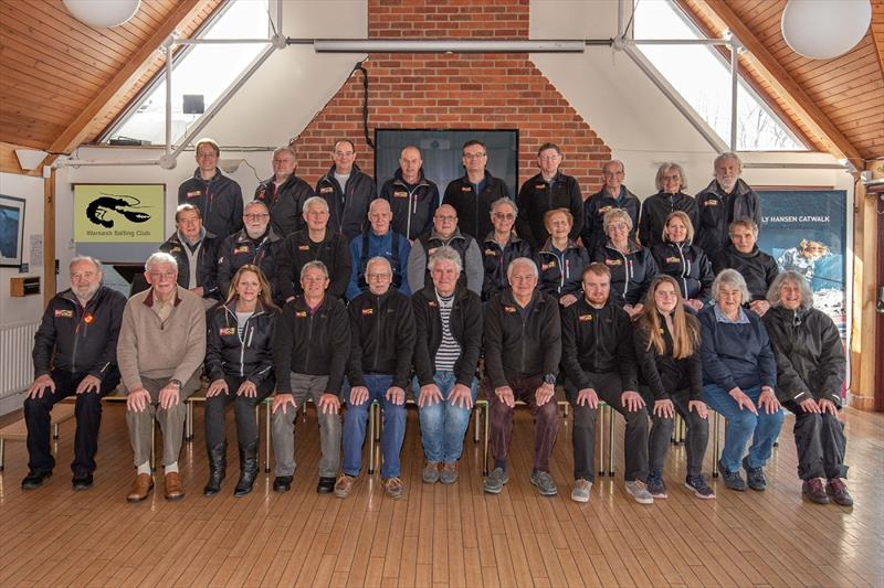 Warsash Spring Series Race team photo copyright Andrew Adams taken at Warsash Sailing Club and featuring the IRC class