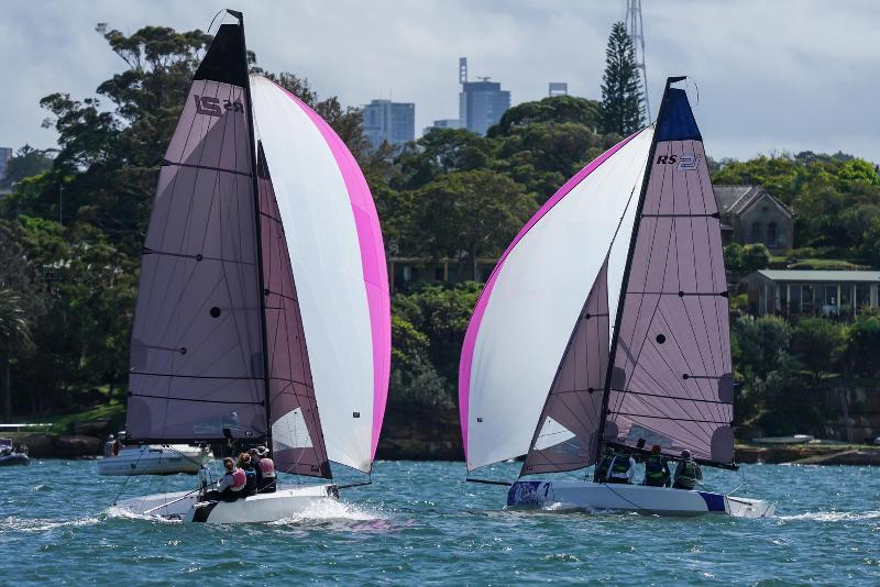 Downwind on day 2 - SAILING Champions League - Asia Pacific northern qualifier - photo © Beau Outteridge
