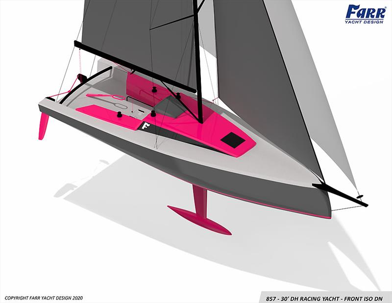 All about a clean layout - X2 - new fast 30 by Farr - photo © Farr Yacht Design