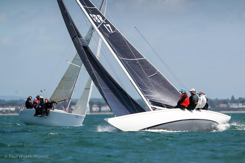 Sioma, GBR17, Six Metre - Royal Southern YC Charity Cup Regatta - photo © Paul Wyeth