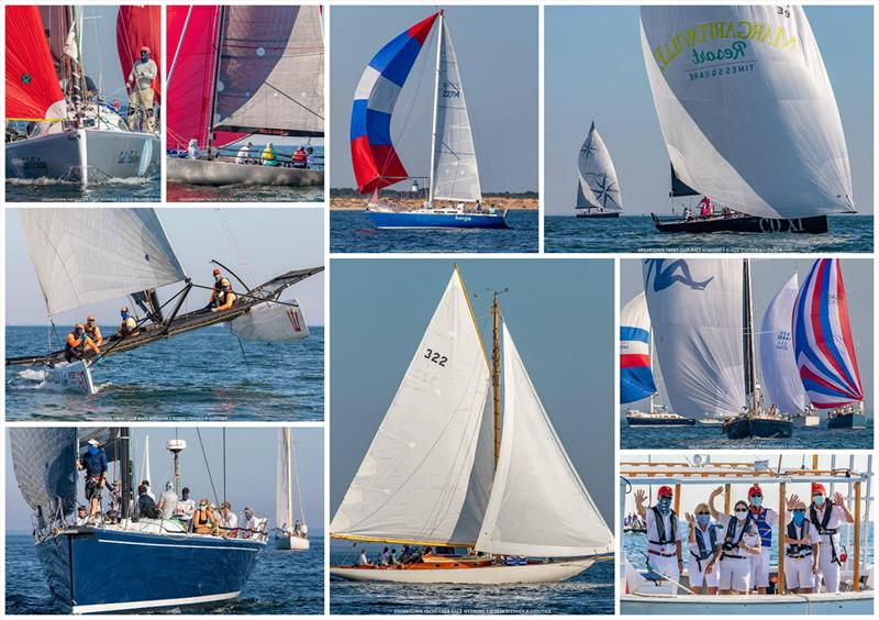 Scenes from the 2020 Edgartown Race Weekend 'Round-the-Island Race photo copyright Stephen Cloutier taken at Edgartown Yacht Club and featuring the IRC class