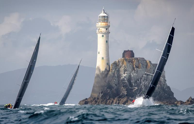 The Fastnet Rock off southwest Ireland is the symbol of the Rolex Fastnet Race. The 2021 edition will be the 49th - photo © Kurt Arrigo