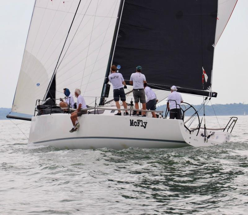 Tony Mack's J/111 McFly - Royal Southern YC Charity Cup Regatta, day 1 - photo © Louay Habib