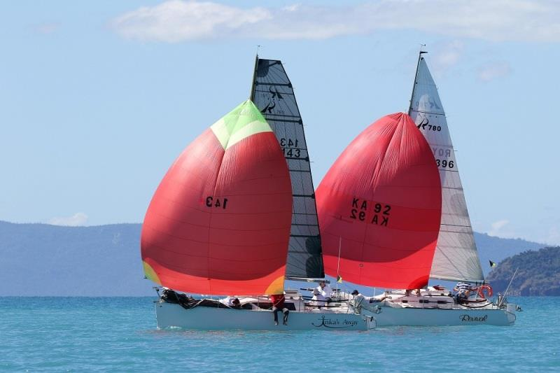 Obsession and Revival go head-to-head - 2020 Airlie Beach Race Week, day 4 - photo © Shirley Wodson / ABRW