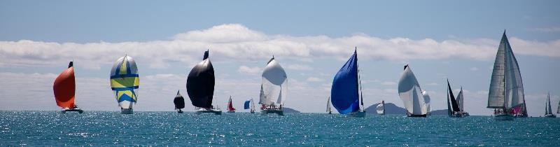 A feast for the eyes on Pioneer Bay - 2020 Airlie Beach Race Week, final day - photo © Shirley Wodson / ABRW