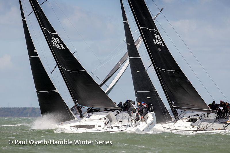 Davanti Tyres racing in the Hamble Winter Series - photo © Paul Wyeth / www.pwpictures.com