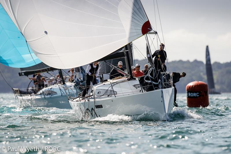 IRC Two winner - David Franks J/112E Leon - RORC IRC National Championships 2020 - photo © Paul Wyeth / pwpictures.com