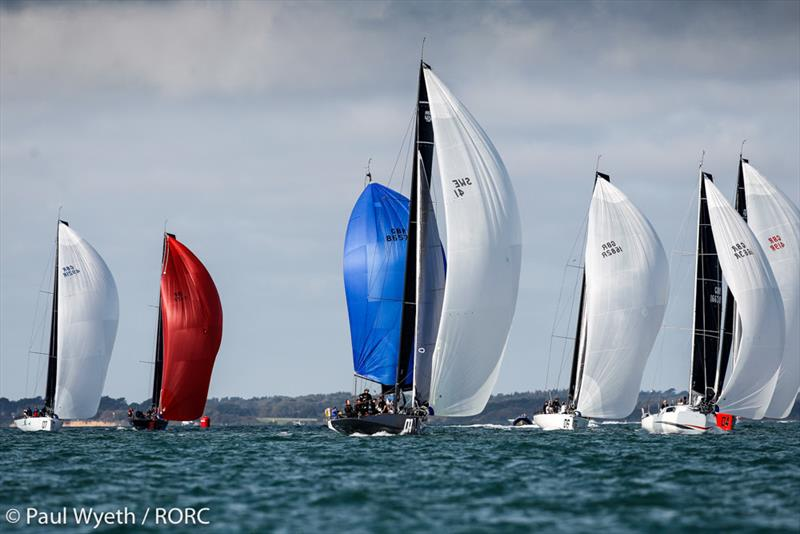 RORC IRC National Championships 2020 fleet - photo © Paul Wyeth / pwpictures.com
