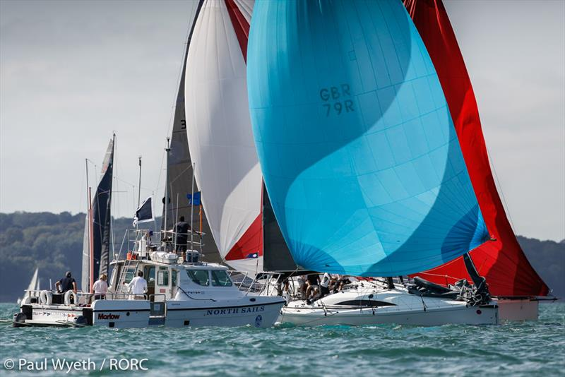 It was a great weekend of racing on the Solent for the IRC Nationals and IRC Two-Handed Championship run by the RORC Race Team - RORC IRC National Championships 2020 - photo © Paul Wyeth / pwpictures.com
