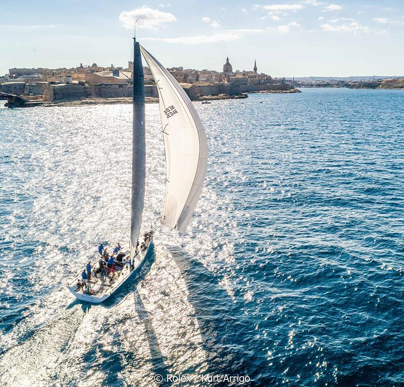 Rolex Middle Sea Race - Tonnerre de Glen, Sail No: NED46, Model: Ker46 photo copyright Rolex / Carlo Borlenghi taken at Royal Malta Yacht Club and featuring the IRC class