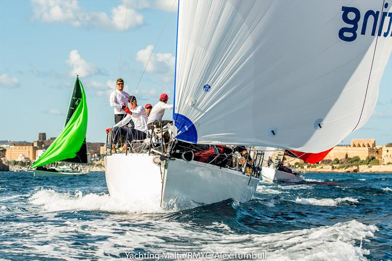 Rolex Middle Sea Race photo copyright Alex Turnbull taken at Royal Malta Yacht Club and featuring the IRC class