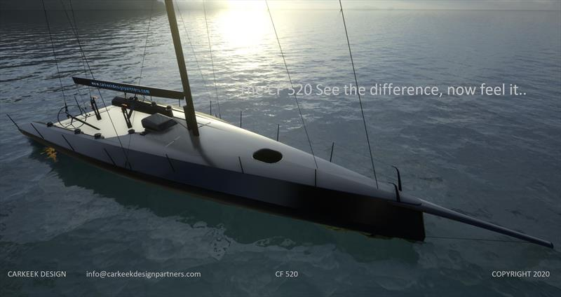 The new CF 520 - first one finished April 2021 - photo © Carkeek Design