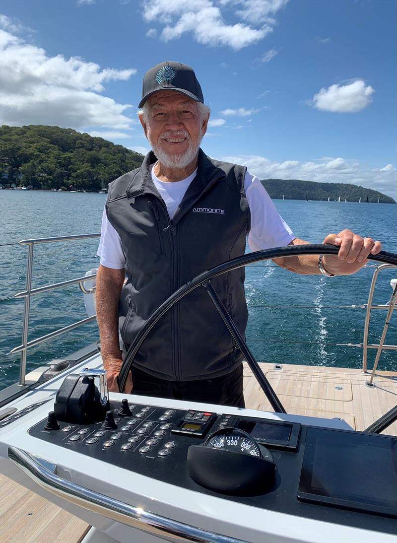 Ammonite - Marcus Blackmore - Club Marine Pittwater to Coffs Harbour Yacht Race photo copyright RPAYC Media taken at Royal Prince Alfred Yacht Club and featuring the IRC class