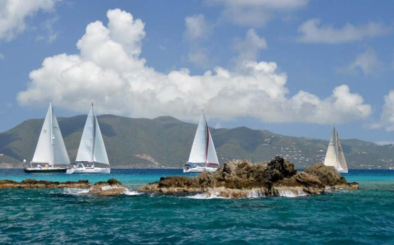 Racing the beautiful waters of the British Virgin Islands photo copyright Ingrid Abery taken at Royal BVI Yacht Club and featuring the IRC class