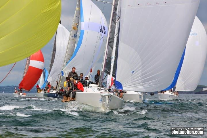 The second edition of the Beaufort Cup will take place during Volvo Cork Week 2018 - International teams from their associated national services will take part - photo © Tim Wright / www.photoaction.com