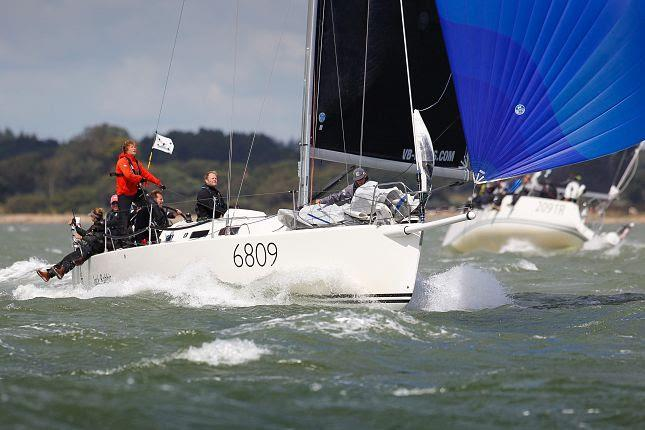 J/109 Jack Rabbit on Cowes Week 2019 day 7 - photo © Paul Wyeth / CWL