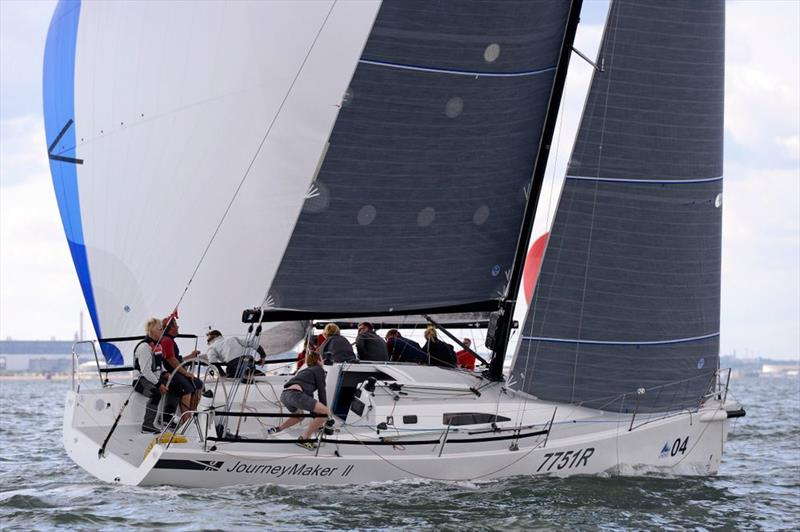 Journeymaker II on day 1 of the J/111 World Championships - photo © Rick Tomlinson / www.rick-tomlinson.com