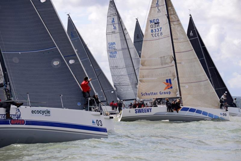 The J/111 one-design class will be racing with the Royal Southern YC - photo © Rick Tomlinson