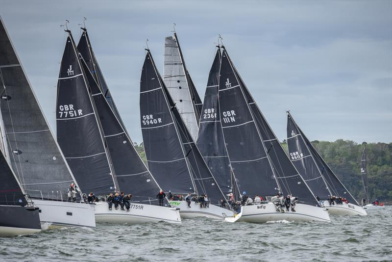 Helly Hansen Warsash Spring Series day 6 - photo © Andrew Adams / www.closehauledphotography.com