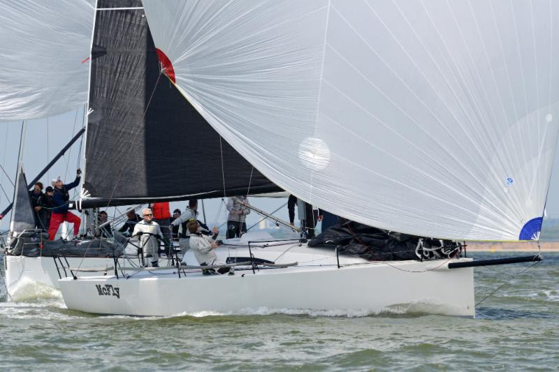 McFly dominated the J/111 fleet today - RORC Vice Admiral's Cup 2019 - photo © Rick Tomlinson / RORC