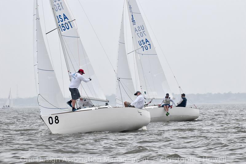 2018 J/22 Midwinter Championship - Day 2 photo copyright Christopher Howell taken at Houston Yacht Club and featuring the J/22 class