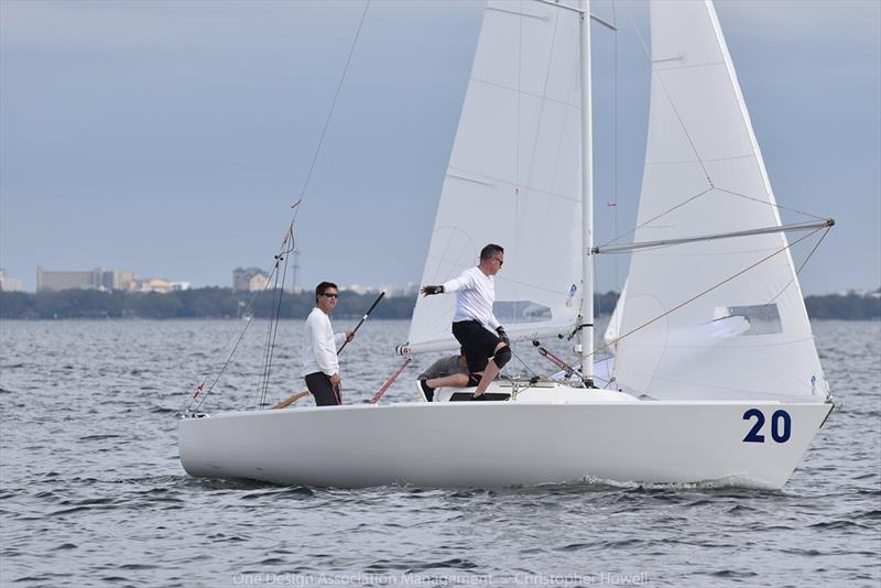 2019 J/22 Midwinter Championship - Day 1 photo copyright Christopher Howell taken at Fort Walton Yacht Club and featuring the J/22 class