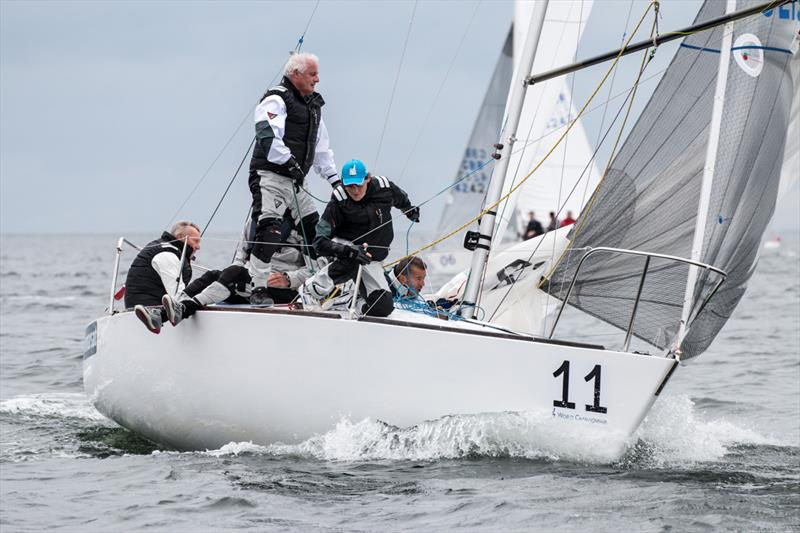 Ian Southworth's team on J/24 Worlds day 2 at Boltenhagen, Germany - photo © Pepe Hartmann / J/24 worlds