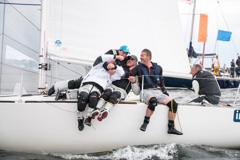 Team Southworth win the J/24 Worlds at Boltenhagen, Germany - photo © Pepe Hartmann / J/24 worlds
