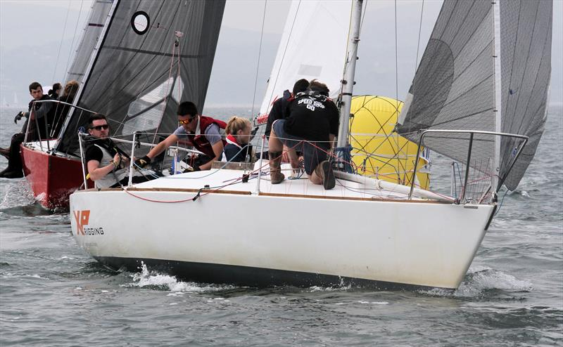 Team XP during the International Paint Poole Regatta - photo © Mark Jardine